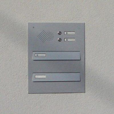 Model 01-200 – Poštni Nabiralnik Za Ograjo