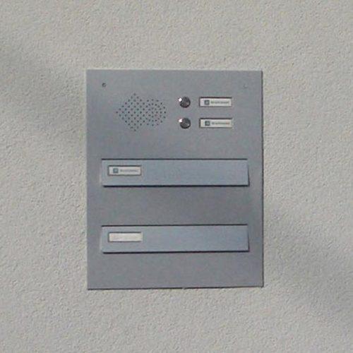 Model 01-200 - Vgradni poštni nabiralnik