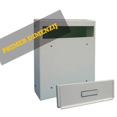 Model 02-184 – Poštni Nabiralnik Za Vrata
