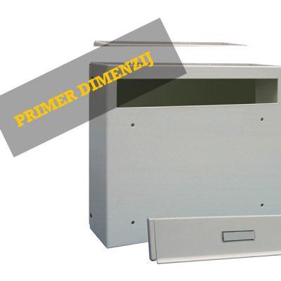 Model 02-186 – Poštni Nabiralnik Za Vrata
