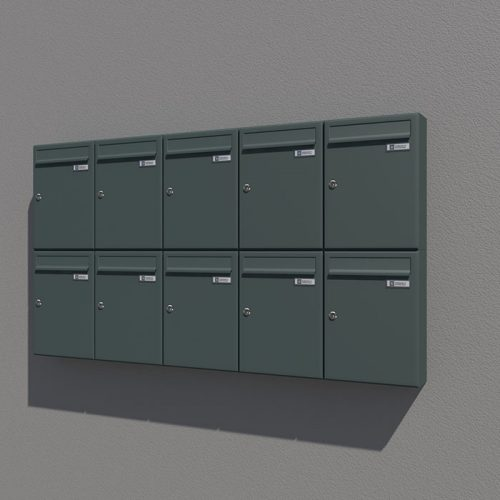 Poštni nabiralnik – Model 04-400 1
