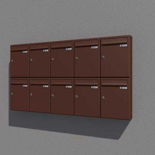 Prikaz izgleda - render za Poštni nabiralnik – Model 04-400