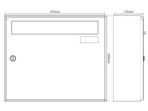 Poštni nabiralnik – Model 04-600 14