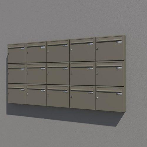 Poštni nabiralnik – Model 04-600 3