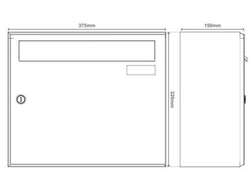 Poštni nabiralnik – Model 04-700 14