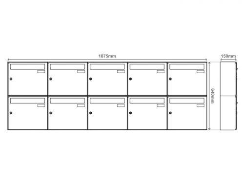 Poštni nabiralnik – Model 04-700 7