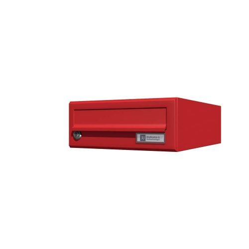 Stenski-poštni-nabiralnik—Model-08-200-Rdeča-posamezno