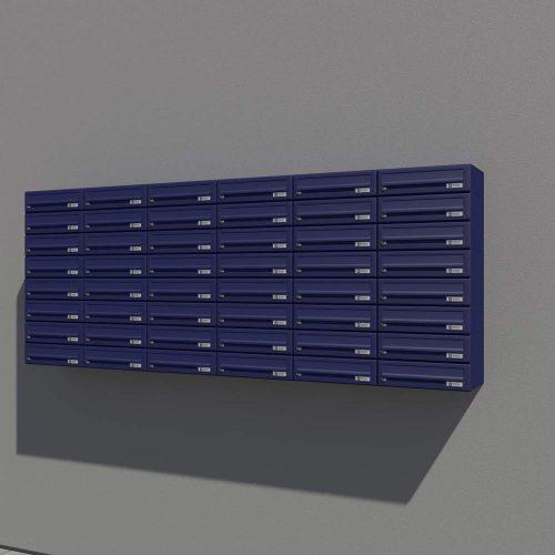 Stenski-poštni-nabiralnik—Model-08-522—RAL-MODRA-PRIKAZ