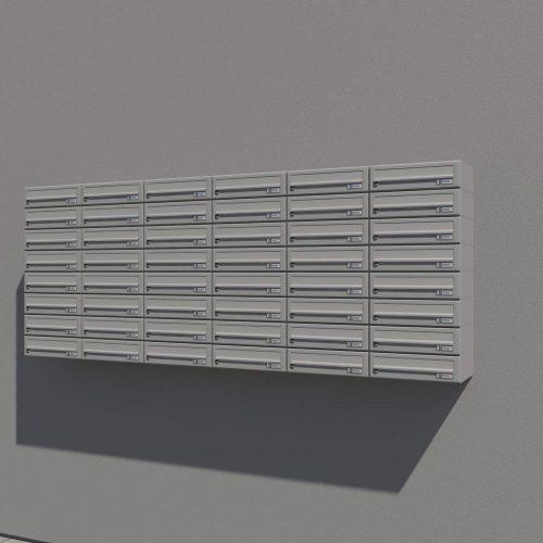 Stenski-poštni-nabiralnik—Model-08-522—RAL–bela-PRIKAZ