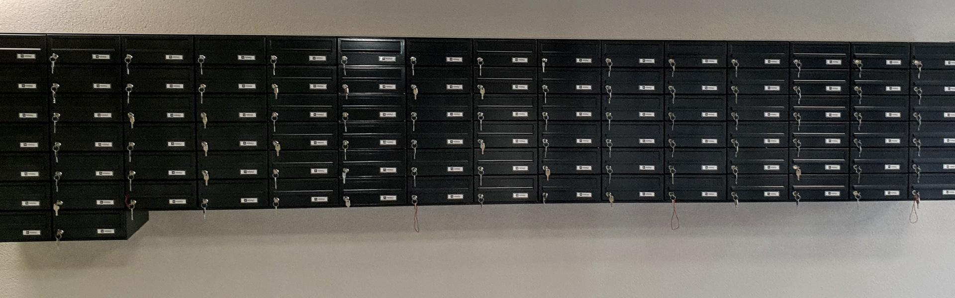 Montaža poštnega nabiralnika, mora biti v skladu s protipožarnimi predpisi