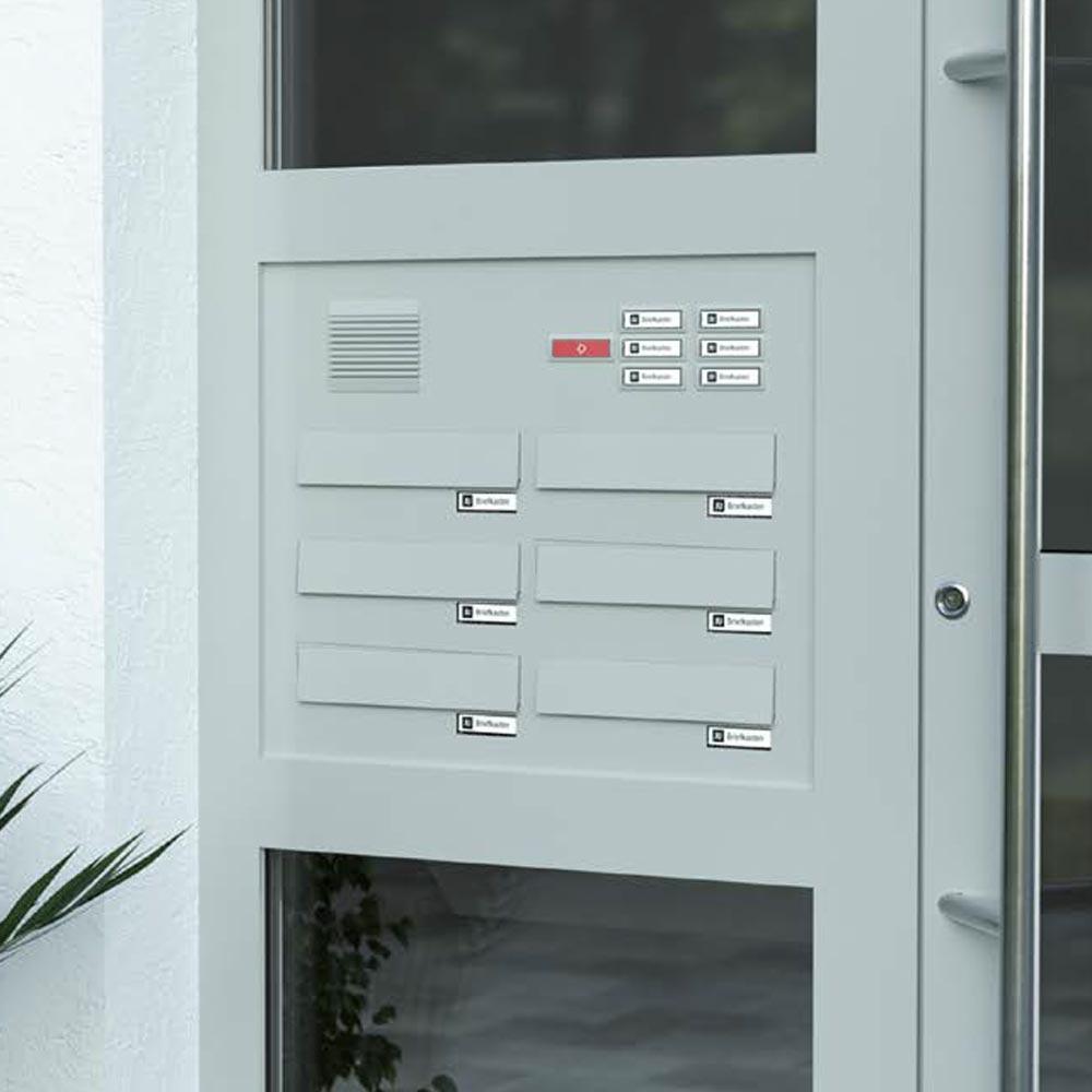 Prikaz Izrisa, Postavitve Za Poštnega Nabiralnika Za Vrata Model 02