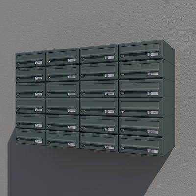 Poštni Nabiralnik – Model 08-202