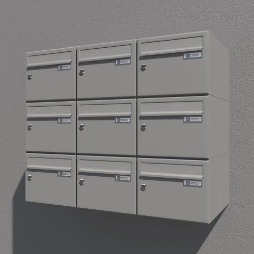 Poštni-nabiralnik-Model-08-212-SIVA-komplet